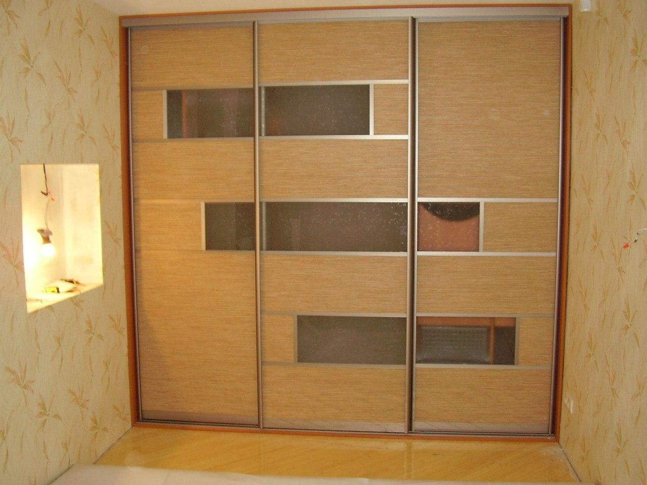 Дизайн двери на шкафы-купе