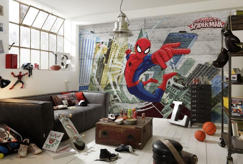 Детская комната в стиле граффити